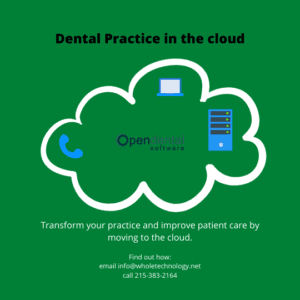 Transform your dental practice with the cloud